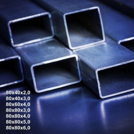Труба профільна сталь 1-3пс 80х80х2 мм 12 м