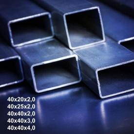 Труба профильная сталь 1-3пс 40х20х1,8 мм 6 м