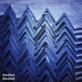 Кутик гарячекатаний сталь 3пс 25х25х3 мм 6 м