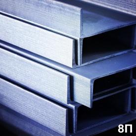Швелер № 8П сталь 3пс5 12 м
