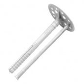 Крепление для утеплителя с пластиковым гвоздем 1 сорт 10х180 мм