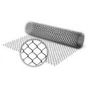 Сетка рабица 1,5 м оцинкованная клетка 55 мм
