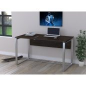 Офисный стол Loft design Q-135 1350х750х700 мм с царгой Венге Корсика