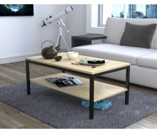 Журнальний столик L-1 Loft Design Дуб Борас