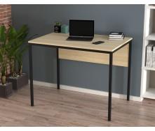 Письмовий стіл Loft design L-2p-mini 920х750х650 мм лдсп- світлий дуб-Борас