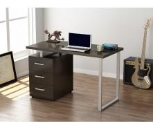 Письменный стол Loft design L-27 1200х750х600 мм венге-корсика