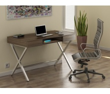Письмовий стіл Loft-design L-15 1200х750х600 мм дсп горіх-модена