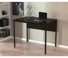 Письменный стол Loft-design L-2p-mini 920х650х750 мм дсп венге-корсика