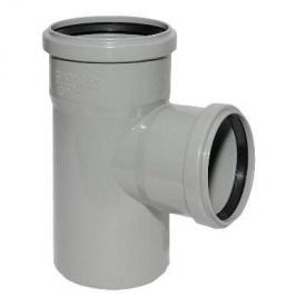 Тройник для внутренней канализации 110х110 мм 90 градусов
