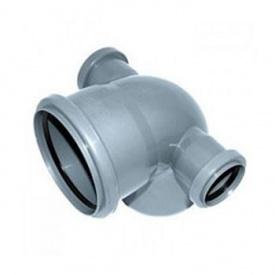 Крестовина канализационная 110х50х50 мм 90 градусов