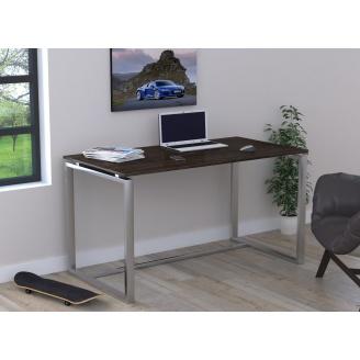 Офисный стол Loft-design Q-135 1350х750х700 мм лдсп венге-корсика
