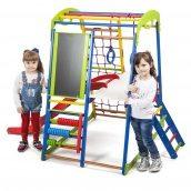 Дитячий спортивний комплекс для будинку SportWood Plus-3 SportBaby