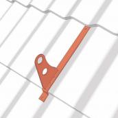 Крюк к трубчатой снегозадержки для металлочерепицы