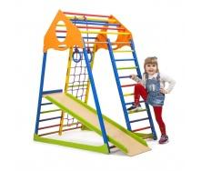 Дитячий спортивний комплекс Sportbaby KindWood Color 1500х850х1320 мм для дому