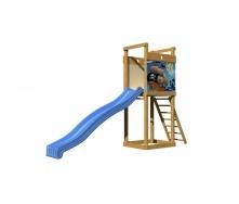 Детская горка SportBaby-2 2400х3600х900 мм для улицы