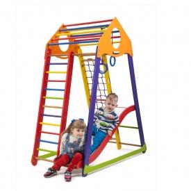 Детский спортивный комплекс BambinoWood Color Plus 1 SportBaby