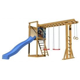 Дитячий майданчик SportBaby-15 2400х3700х3300 мм