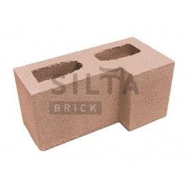 Блок гладкий Сілта-Брік Еліт 38-24 кутовий 390х190х190 мм