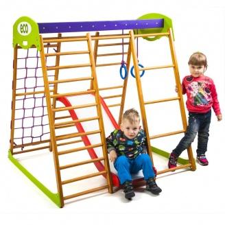 Детский спортивный комплекс для квартиры Карамелька Plus 1 SportBaby