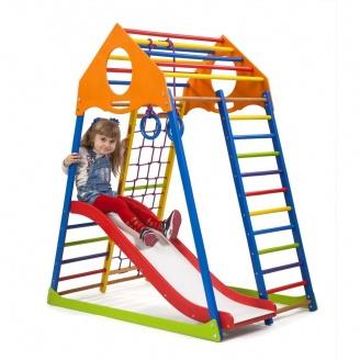 Детский спортивный комплекс SportBaby KindWood Color Plus-1