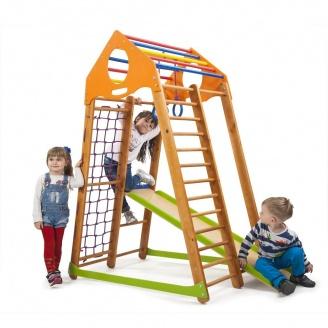 Детский спортивный комплекс SportBaby BambinoWood 1700х850х1320 мм