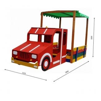 Песочница Пожарная машина SportBaby