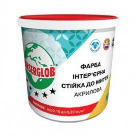 Краска акриловая интерьерная Стойкая к мытью Ансерглоб 14 кг