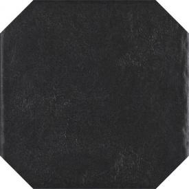 Настенная плитка Paradyz Modern Nero Struktura Octagon 198х198 мм (1179581)