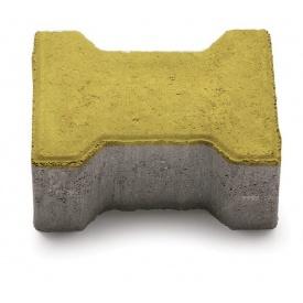Тротуарная плитка РОАД КОНСТРАКШН Катушка198х163х60 мм желтая