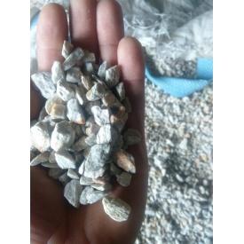 Крошка мраморная Белое золото 5-10 мм