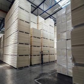 Теплоизоляционная плита PIR 2400x1200x100 мм стекловолокно