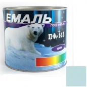 Эмаль Gaia ПФ-115 голубая 2,5 кг