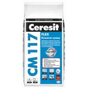 Клей для натурального и искусственного камня Ceresit CM-117 5 кг