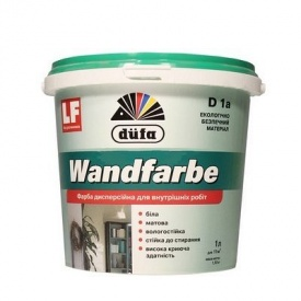 Краска интерьерная Dufa Wandfarbe D1a дисперсионная матовая 1 л