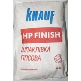 Шпаклівка гіпсова Knauf HP Finish 5 кг