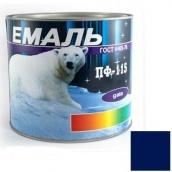 Краска Эмаль ПФ-115 синяя 2,5 кг