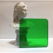 Монолитный поликарбонат Borrex 3 мм зеленый 2050х6100 мм