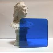 Монолитный поликарбонат Borrex 2 мм синий 2050х6100 мм