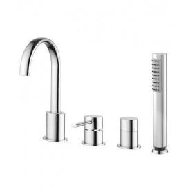 Змішувач для ванни врізний Welle Leon QA28174D