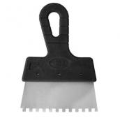 Шпатель зубчастий 150 мм 6х6 мм