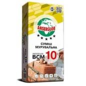 Кладочна суміш Anserglob ВСМ 10 25 кг