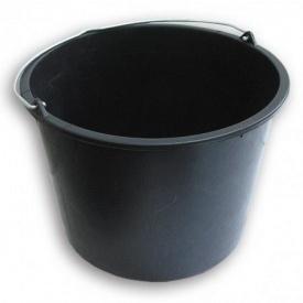 Відро пластмасове 16 л чорне