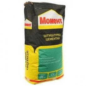 Штукатурка цементна Момент 25 кг