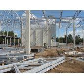 Монтаж металоконструкцій складських приміщень