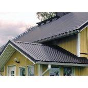 Монтаж профнастила на крышу здания