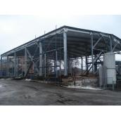 Каркасне будівництво виробничої будівлі сільськогосподарського призначення