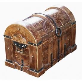 Скриня дерев`яний під старовину Класик під замовлення