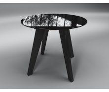 Обідній стіл Леонардо Sentenzo 760х900 мм темний