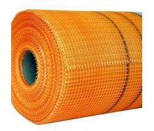 Армирующая стеклосетка 160 г/м2 50 м оранжевая