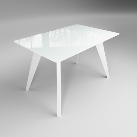 Обідній стіл Леонардо Sentenzo 1200х800х710 мм білий